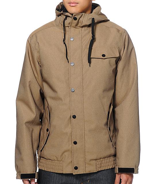 Empyre Prospect 10k Khaki Snowboard Jacket
