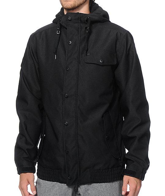 Empyre Prospect Black Snowboard Jacket