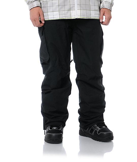 Empyre Protocol Black 10K Cargo Snowboard Pants