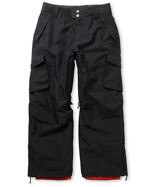 Empyre Protocol Black 10k Boys Snowboard Pants 2013