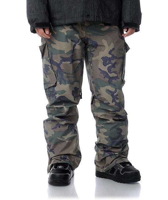 Empyre Protocol Grey 10K Camo Snowboard Pants