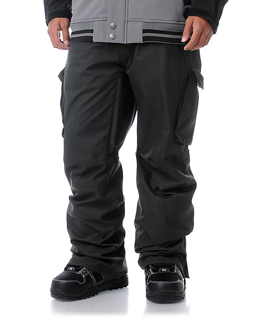 Empyre Protocol Grey 10K Cargo Snowboard Pants