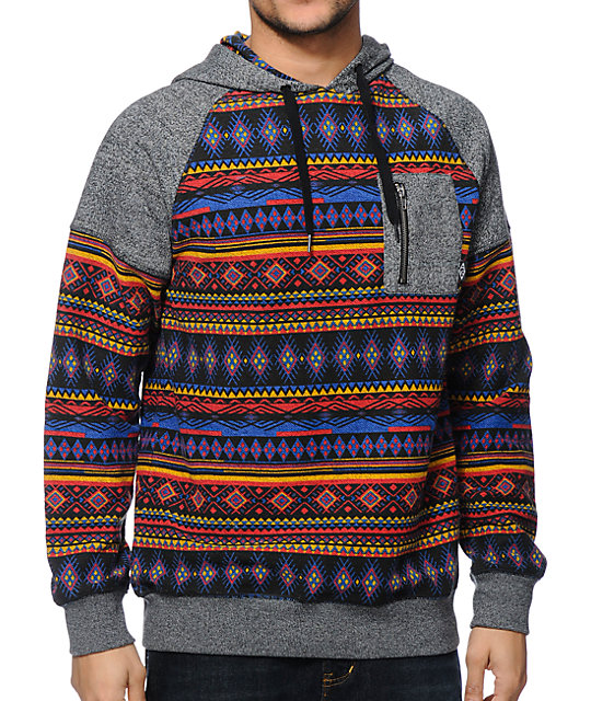 Empyre Providence Tribal Pocket Pullover Hoodie | Zumiez