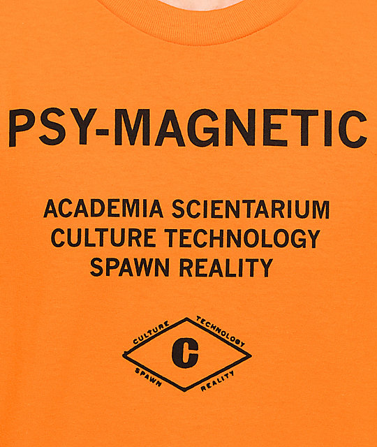 Empyre Psy-Magnetic Orange T-Shirt