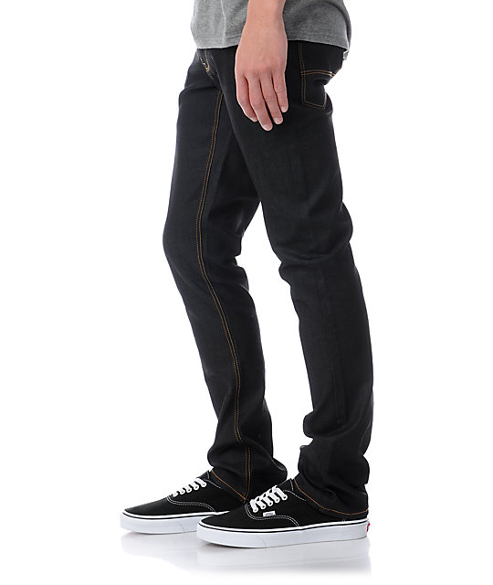 Empyre Punk Rock Paul Ink Wash Super Skinny Jeans