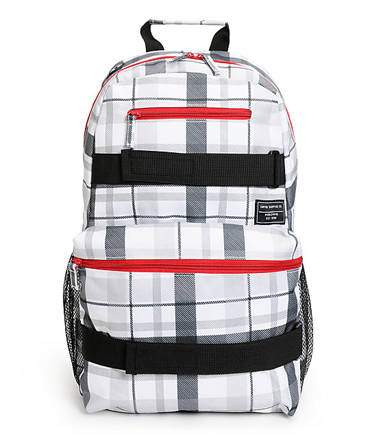 Empyre Quantum Plaid Backpack