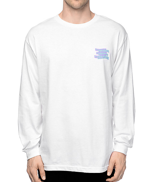Empyre Radical Dragon White Long Sleeve T-Shirt