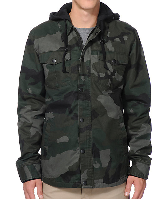 Empyre Rambler Camo Hooded Jacket