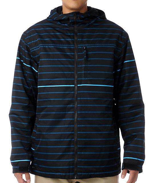 Empyre Ranger Blue Stripe 10K Snowboard Jacket
