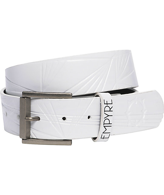 Empyre Ray Gun White Belt