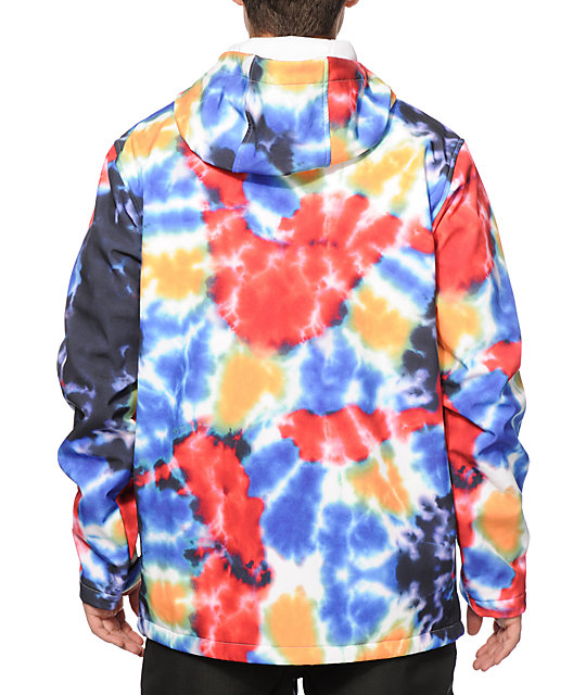 Empyre Reaction Tie Dye 10K Softshell Snowboard Jacket