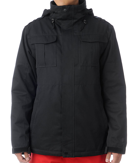 Empyre Recon M-65 Black 10K Snowboard Jacket