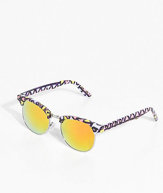 Empyre Retro Screech Yellow & Orange Revo Sunglasses