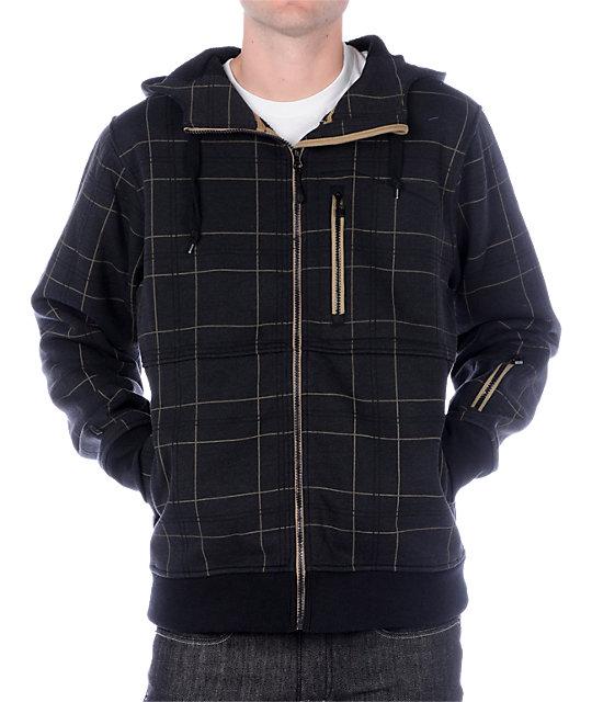 Empyre Revelation Plaid Tech Fleece Jacket