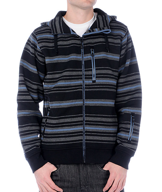 Empyre Revelation Stripe Tech Fleece Jacket