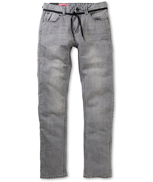 Empyre Revolver Grey Skinny Jeans