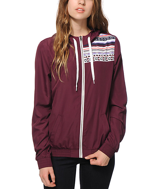 Empyre Roni Potent Purple Tribal Windbreaker Jacket | Zumiez