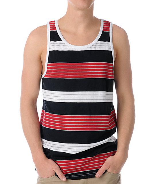Empyre Scope Red Stripe Tank Top