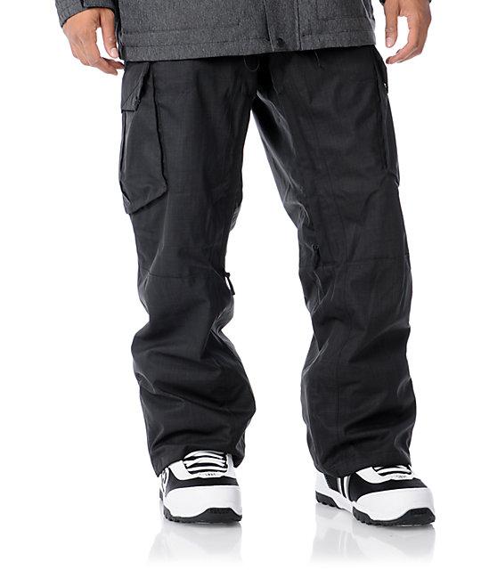 Empyre Sentinal Black 10K Mens Snowboard Pants