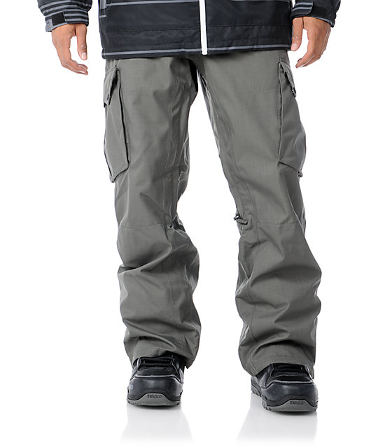 Empyre Sentinal Grey 10K Mens Snowboard Pants