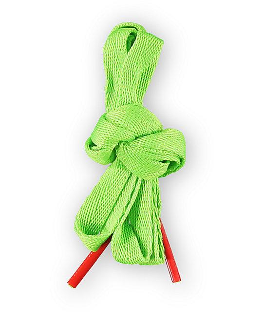 Empyre Shazam Neon Green Shoe Laces
