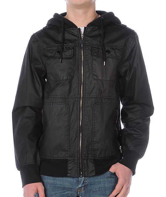 Empyre Shellcasing Black Jacket