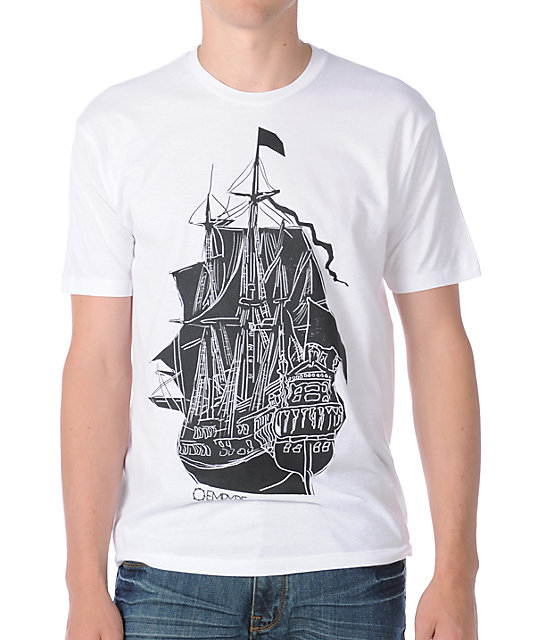 Empyre Ship Ahoy White T-Shirt