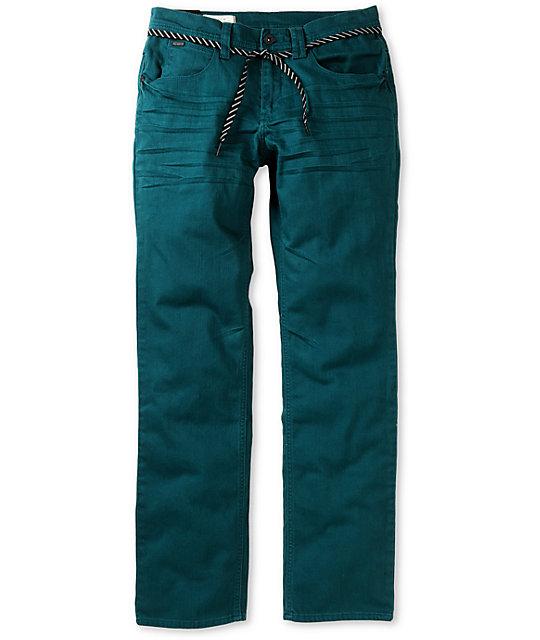 Empyre Skeletor Atlantic Blue Skinny Jeans