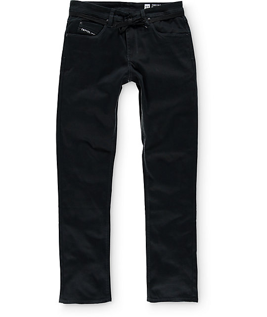 Empyre Skeletor Black Bedford Skinny Fit Pants
