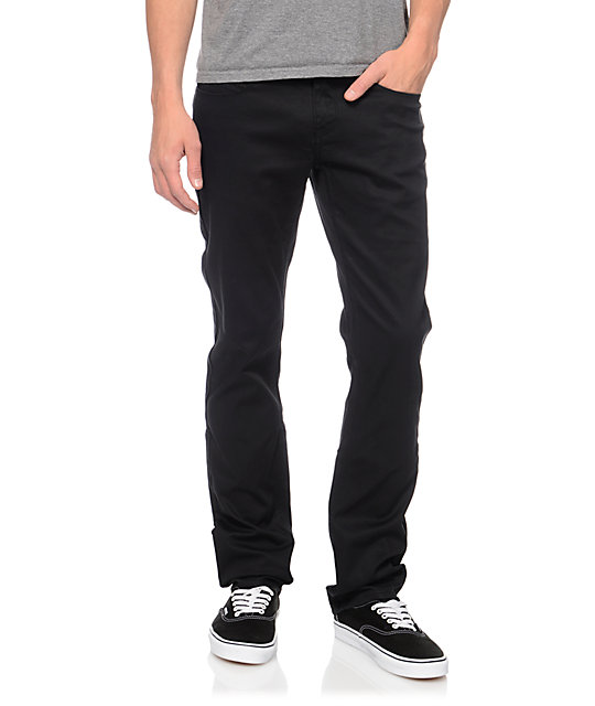 Empyre Skeletor Black Bedford Skinny Pants