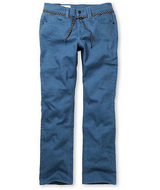Empyre Skeletor Blue Skinny Jeans