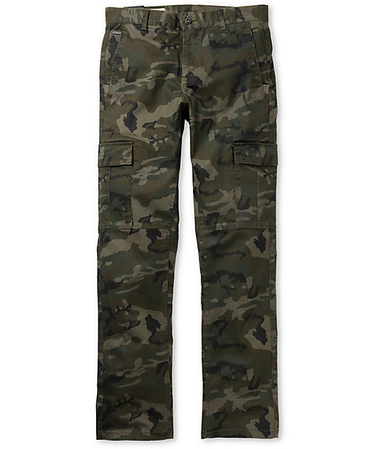 Empyre Skeletor Camo Stretch Cargo Pants