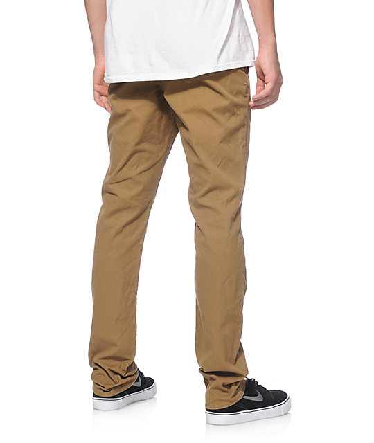 Empyre Skeletor Canvas Skinny Fit Chino Pants