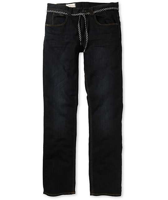 Empyre Skeletor Carbon Blue Skinny Jeans
