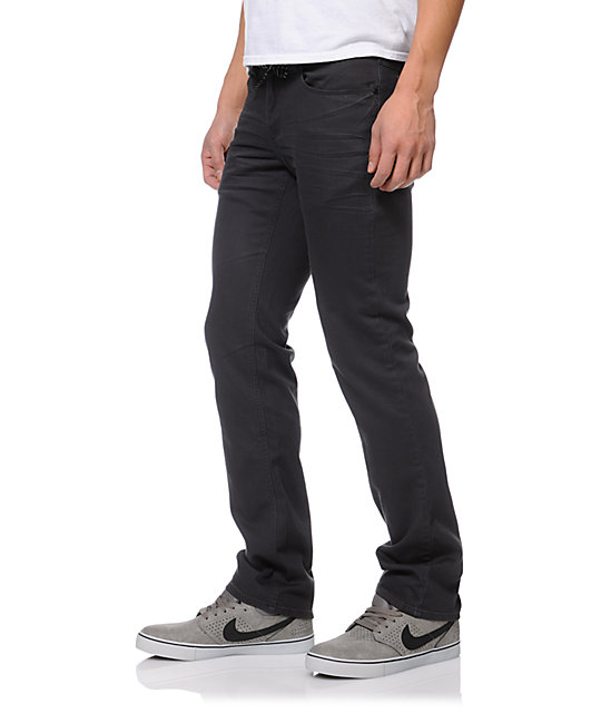 Empyre Skeletor Charcoal Denim Skinny Jeans