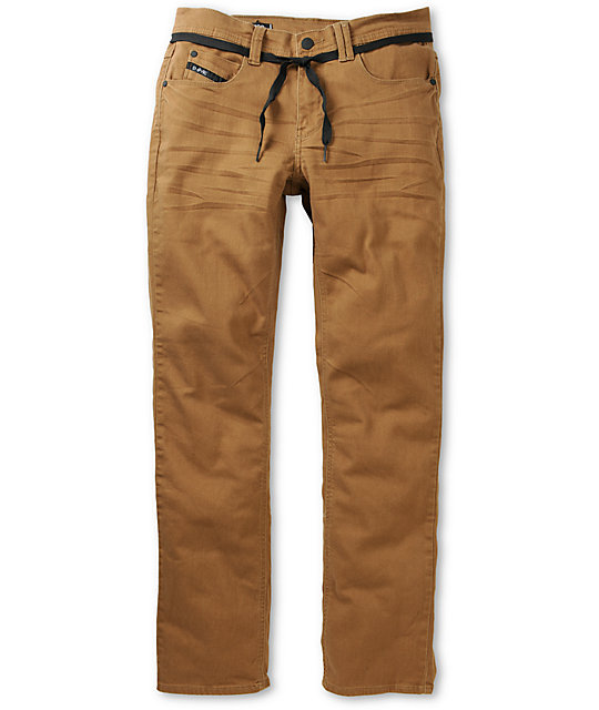 Empyre Skeletor Dark Khaki Denim Skinny Jeans at Zumiez : PDP