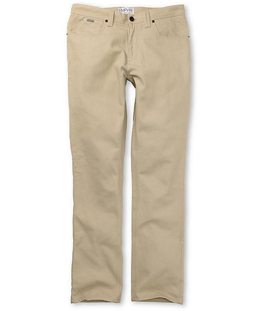 Empyre Skeletor Gold Twill Pants