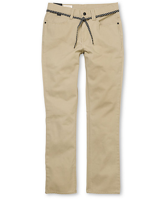 Empyre Skeletor Heavy Twill Khaki Pants at Zumiez : PDP