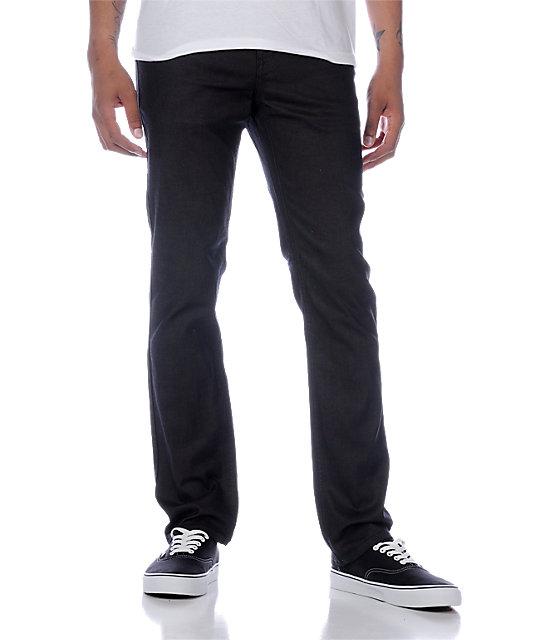 Empyre Skeletor Resin Black Skinny Jeans