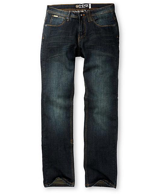 Empyre Skeletor Resin Dirty Skinny Jeans