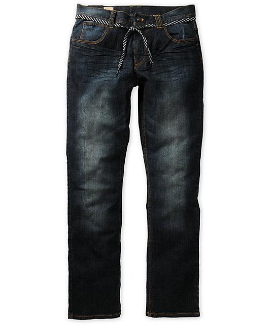 Empyre Skeletor Resin Dirty Wash Slim Jeans