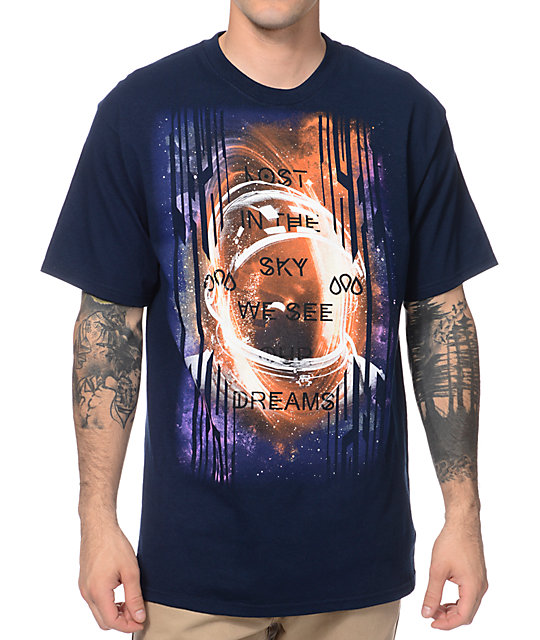 Empyre Sky Dreams Navy Blue T-Shirt