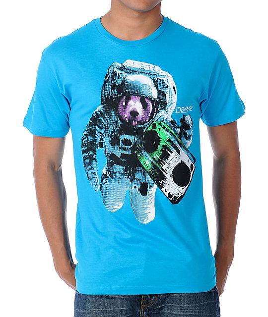 Empyre Space Panda Turquoise T-Shirt