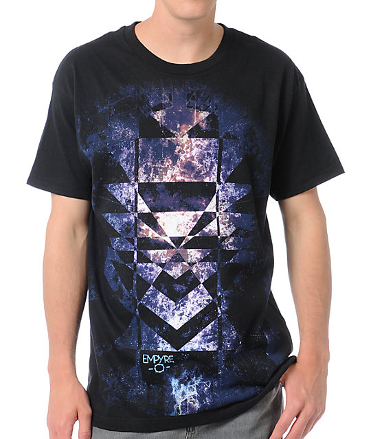 Empyre Space Shapes Black T-Shirt