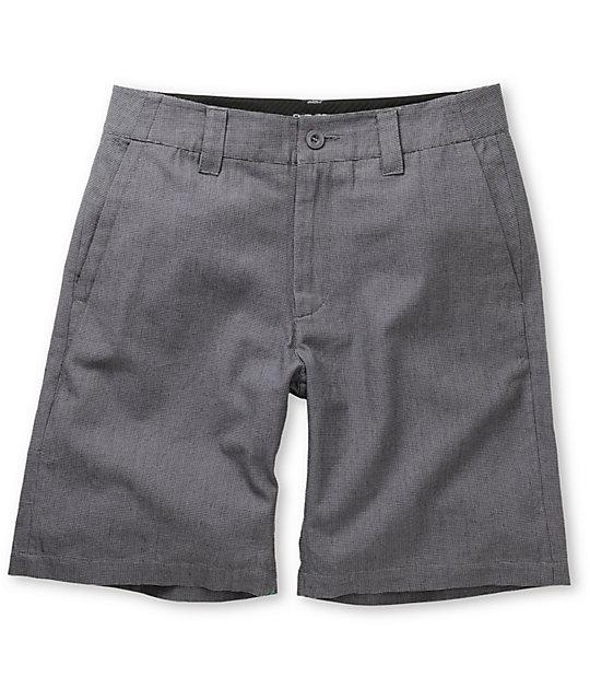 Empyre Status Black Basket Weave Shorts