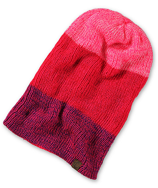Empyre Tabor Neon Pink Reversible Beanie