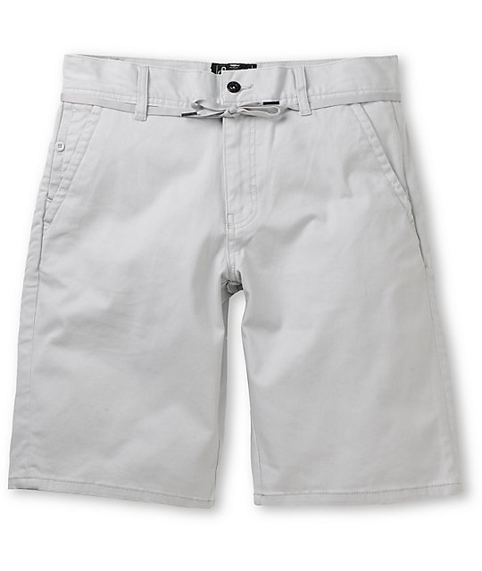 Empyre Take A Walk Grey Chino Shorts