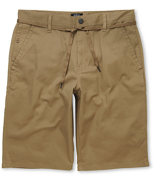 Empyre Take A Walk Khaki Chino Shorts