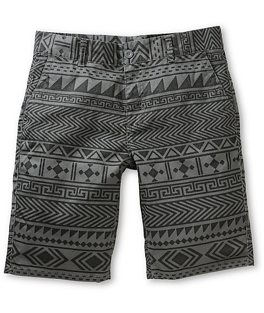 Empyre Take A Walk Tribal Chino Shorts
