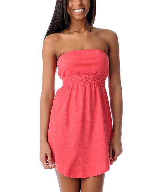 Empyre Teaberry Pink Tube Dress
